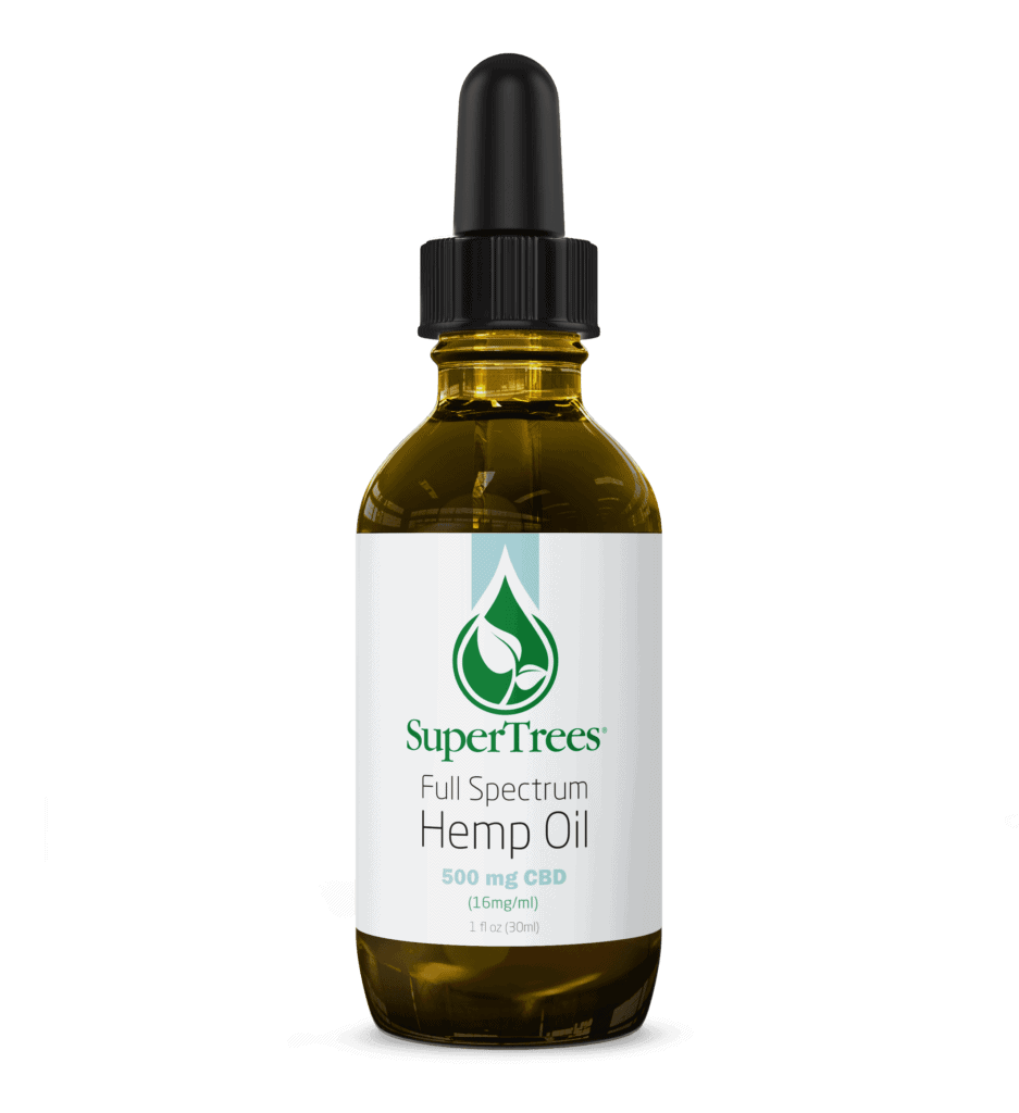 SuperTrees Botanicals - CBD Oil - Full Spectrum - 500mg