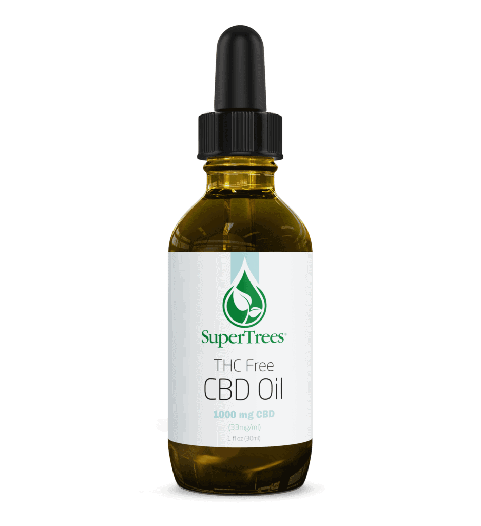 SuperTrees Botanicals - CBD Oil - Isolate - 1000mg