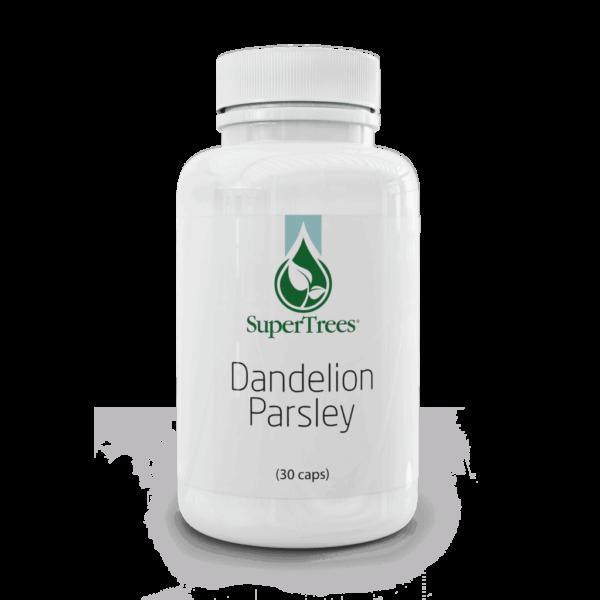 SuperTrees Botanicals - Herbal Supplements - Herbal Diuretic - Dandelion Parsley - 30 capsules
